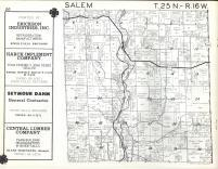 Salem T25N-R16W, Pierce County 1960